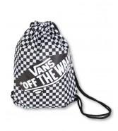 Zestaw Vans Worek BENCHED BAG White/Black Checkerboard + Piórnik OTW PENCIL POUCH Black Chilli
