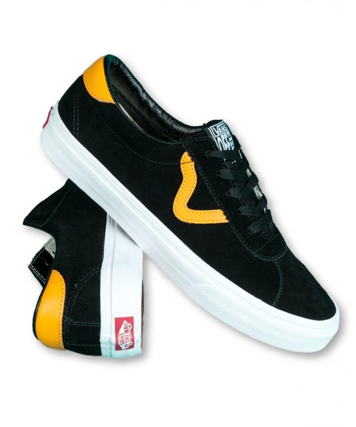 Buty Vans SPORT BlackCadmium Yellow