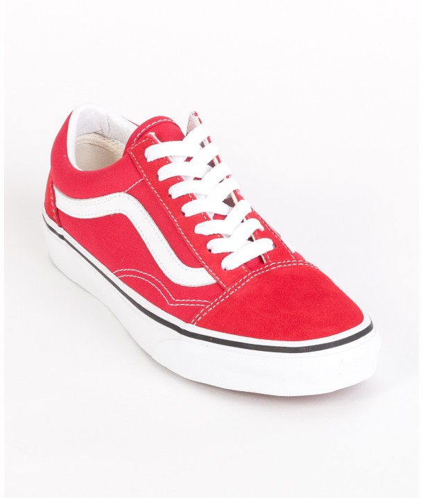 Vans OLD SKOOL Racing Red/True White VA4BV5JV6