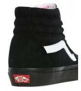 Vans SK8-HI (Pig Suede) Black/Black