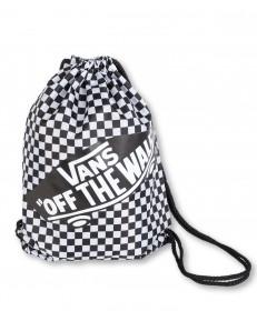 Zestaw Vans Worek BENCHED BAG + Piórnik OTW PENCIL POUCH White/Black Checkerboard