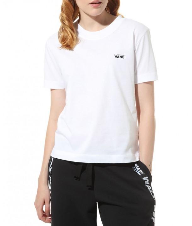 T-shirt Vans BOXY White