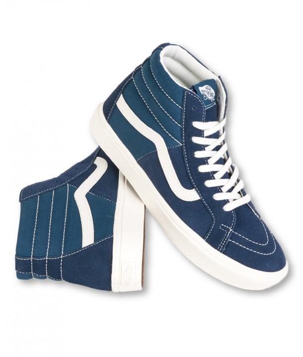 Vans COMFYCUSH SK8-HI (Ripstop) Dress Blues/Gibraltar Sea VA4P3DTFN