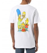 Vans X (The Simpsons) Family White