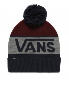 Vans STRIPE POM BEANIE Dress Blues/Port Royale