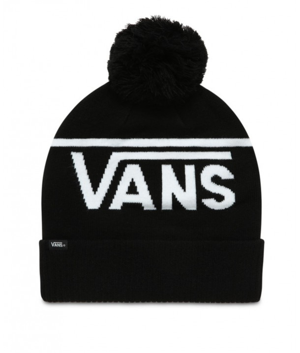 Vans STRIPE POM BEANIE Black/White