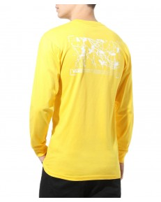 Vans 66 SUPPLY LS Lemon Chrome