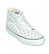 Vans SK8-HI TAPERED (Checkerboard) Zen Blue/True White