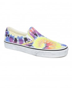 Vans CLASSIC SLIP-ON (Washed) Tie Dye/True White