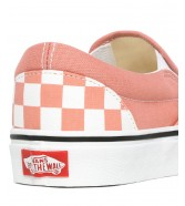 Vans CLASSIC SLIP-ON (Checkerboard) Rose Dawn/True White