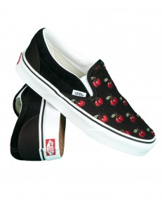 Vans CLASSIC SLIP-ON (Cherries) Black