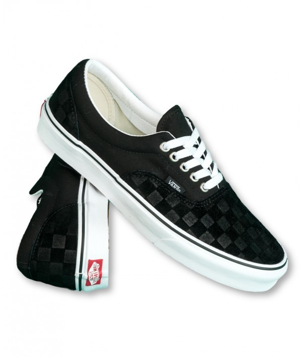 Vans ERA (Deboss Checkerboard) Black/True White