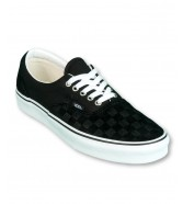 Vans ERA (Deboss Checkerboard) Black/True White