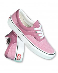 Vans ERA (Deboss Checkerboard) Heather Rose/True White