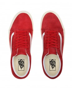 Vans OLD SKOOL (Pig Suede) Chili Pepper/True White