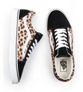 Buty Vans OLD SKOOL (Leopard) Black/True White