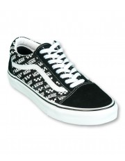 Vans OLD SKOOL (Logo Repeat) Black/True White