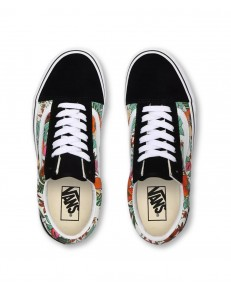 Vans OLD SKOOL (Multi Tropic) Black/True White