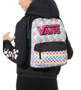 Vans REALM BACKPACK Girls Multicheck