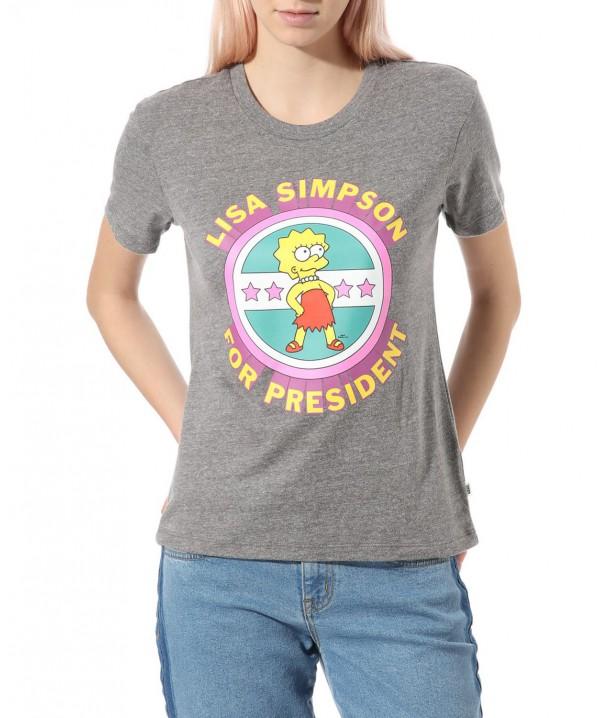 Vans X (The Simpsons) Lisa 4 Prez Grey