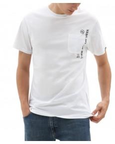 T-shirt Vans QUICK RESPONSE White
