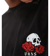 T-shirt Vans ROSE BED SS Black
