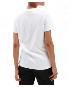 T-shirt Vans BORDER FLORAL BOYFRIEND White