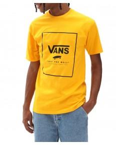 T-shirt Vans CLASSIC PRINT BOX Saffron/Black