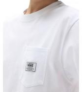 T-shirt Vans CLASSIC PATCH POCKET White