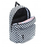 Zestaw Vans Plecak REALM FLYING Black/Checker + Worek BENCHED BAG Onyx