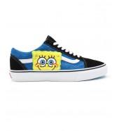 Buty Vans OLD SKOOL (SpongeBob) Black/Blue