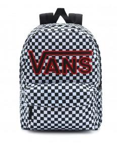Plecak Vans REALM FLYING V BACKPACK Black/Checker
