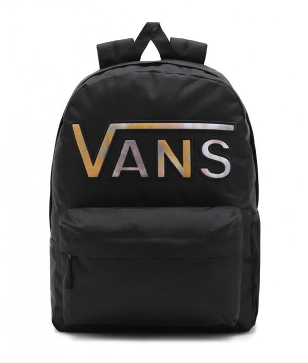Plecak Vans REALM FLYING V BACKPACK Black Tie Dye