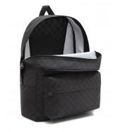 Plecak Vans OLD SKOOL CHECK Black/Charcoal