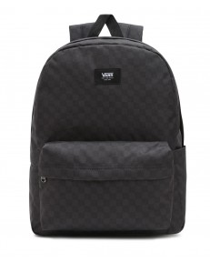Zestaw Vans Plecak OLD SKOOL CHECK Black/Charcoal + Worek Vans BENCHED BAG Onyx