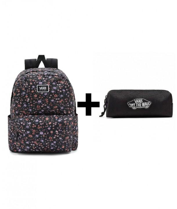 Zestaw Vans Plecak OLD SKOOL H2O + Piórnik OTW PENCIL POUCH Black