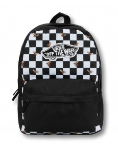 Zestaw Vans Plecak REALM Bee Checkerboard + Piórnik OTW PENCIL POUCH White/Black Checkerboard