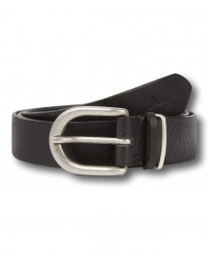 Wrangler DOUBLE LOOP BELT W0B11 Black