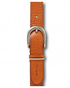 Wrangler DOUBLE LOOP BELT W0B11 Congac