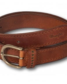 Wrangler DETAILED BELT W0D7 Congac