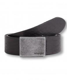 Pasek Wrangler PLATE BUCKLE W0E3 Black