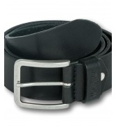 Wrangler STRUCTURED BELT W0F1 Black