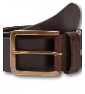 Wrangler STRUCTURED BELT W0F1 Brown
