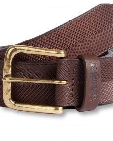Pasek Wrangler ARROW BELT W0G5 Brown