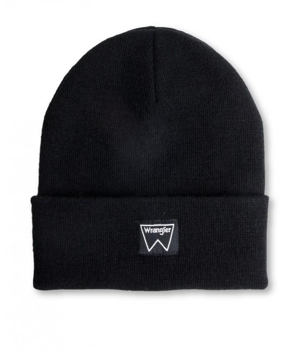 Wrangler BASIC BEANIE W0M03 Black W0M03UH01