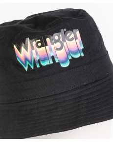 Wrangler BUCKET HAT W0M31 Black