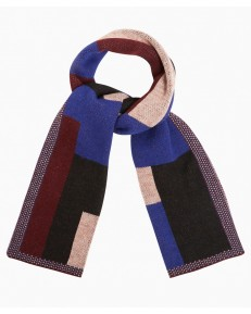 Szalik Wrangler Colourful Scarf W0S14 Spectrum Blue