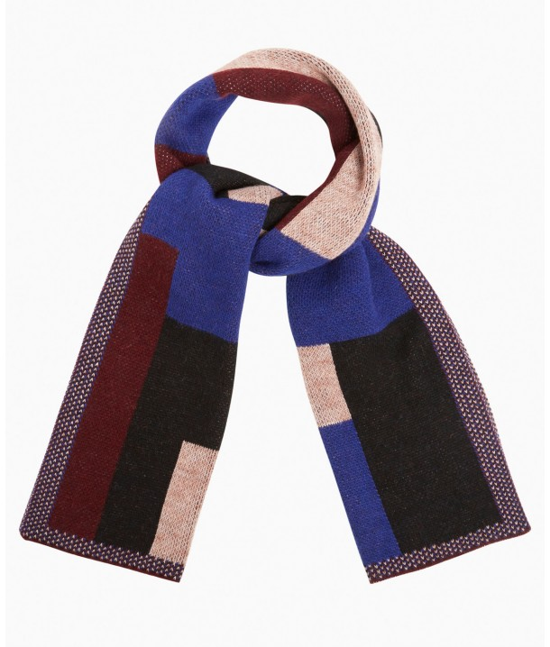 Wrangler Colourful Scarf W0S14 Spectrum Blue W0S14U2RH