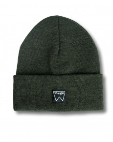 Wrangler BASIC BEANIE W0U0U Rifle Green