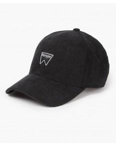 Wrangler CORDUROY CAP W0V0 Black